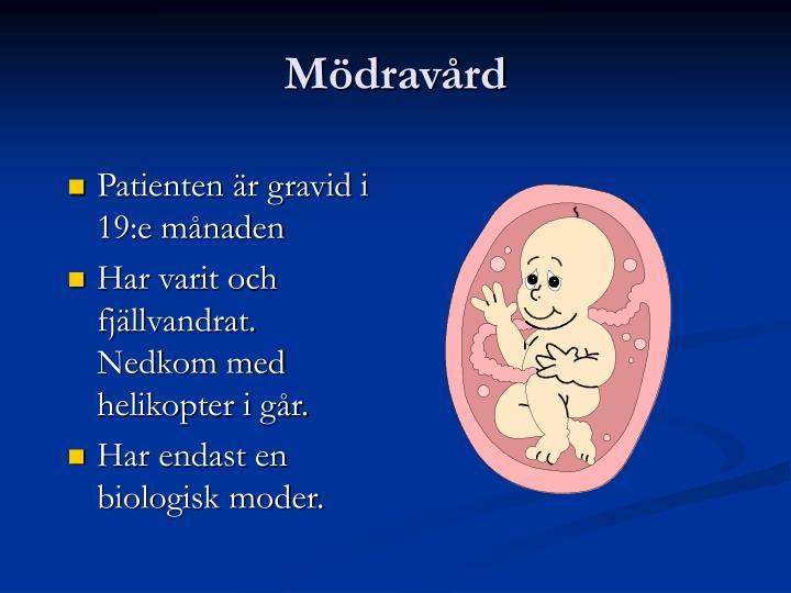 Mödravård