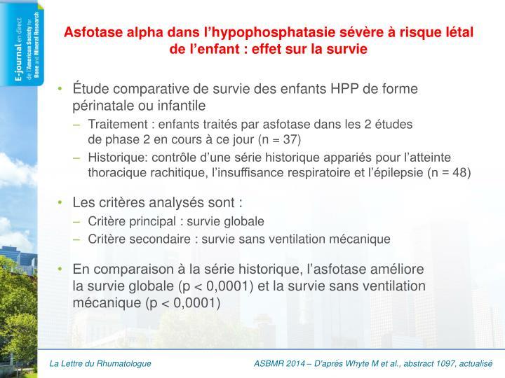 Asfotase
