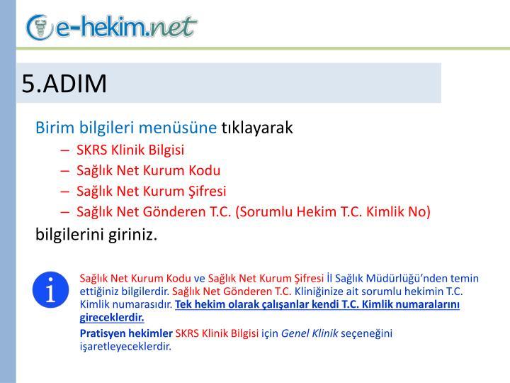 5.ADIM