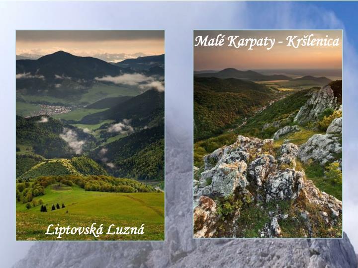 Malé Karpaty - Kršlenica