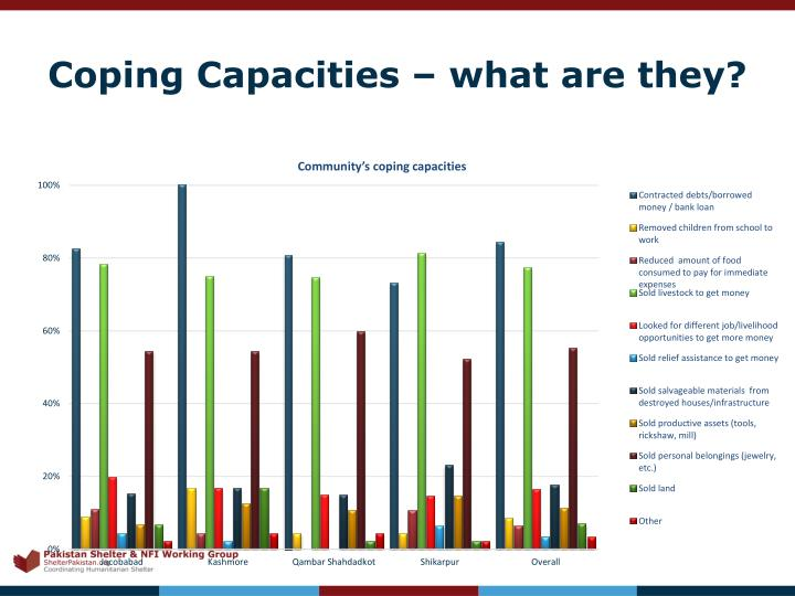 Coping Capacities – what are they?