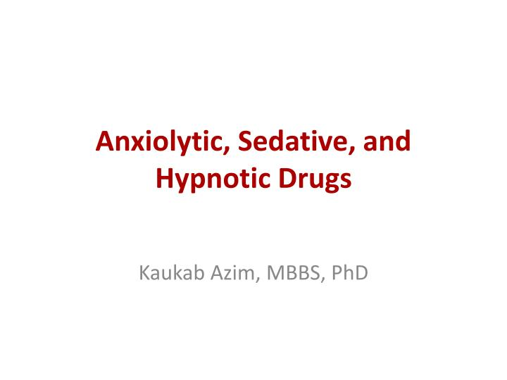 an analysis of a hypnotic and sedative properties in methaqualone Hypnotics are drugs that induce sleep methaqualone's sedative quality was first noted in the 1950s and researchers found it could fight malaria , but it wasn't patented until 1962.