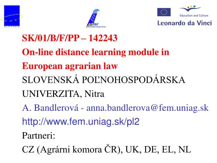 SK/01/B/F/PP – 142243