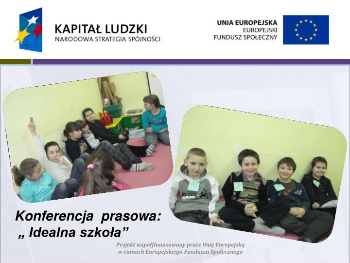 Konferencja  prasowa: