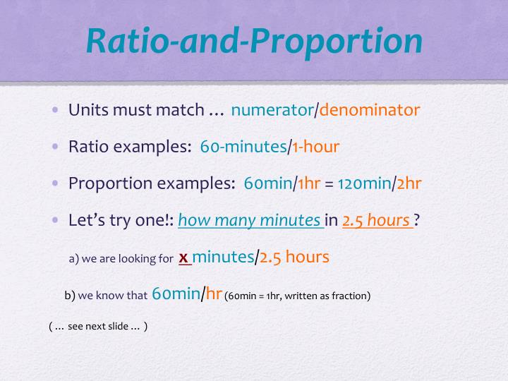 Ratio-and-Proportion