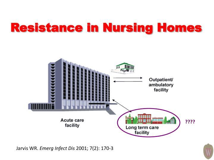 Resistance in Nursing Homes