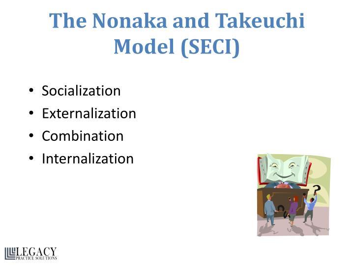The Nonaka and Takeuchi Model (SECI)