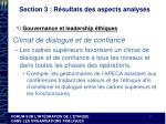 section 3 r sultats des aspects analys s1