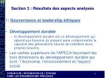 section 3 r sultats des aspects analys s2