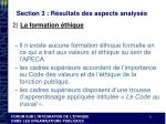 section 3 r sultats des aspects analys s3