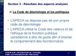 section 3 r sultats des aspects analys s6