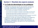 section 3 r sultats des aspects analys s7