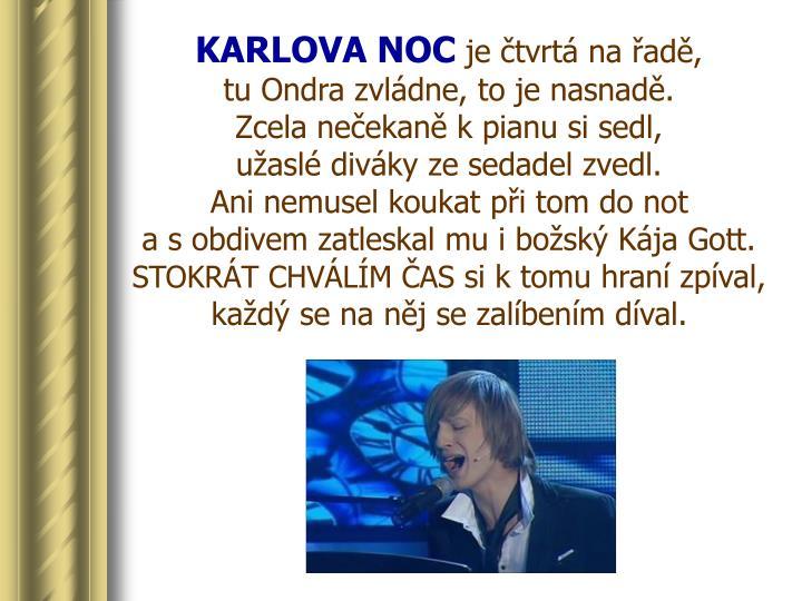 KARLOVA NOC