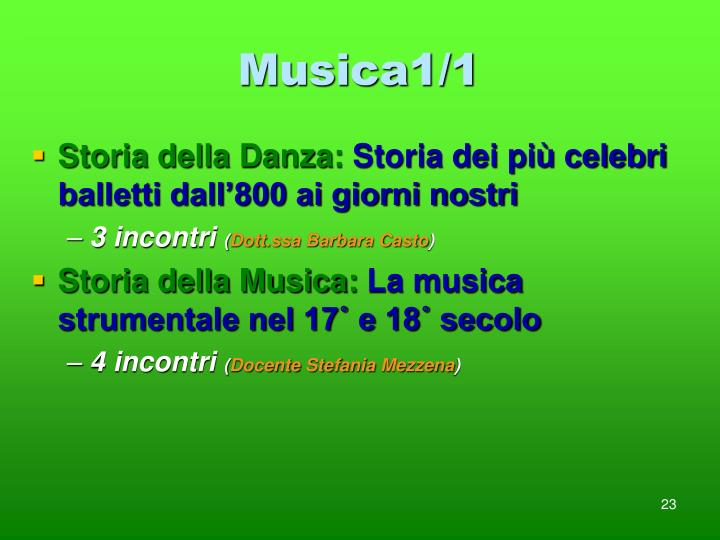 Musica1/1