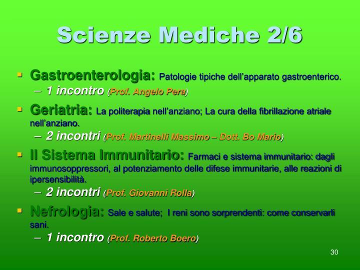Scienze Mediche 2/6