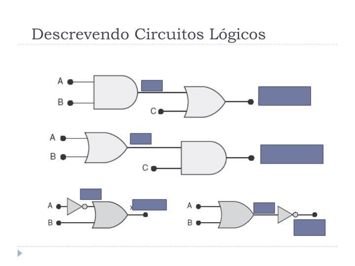Descrevendo circuitos l gicos