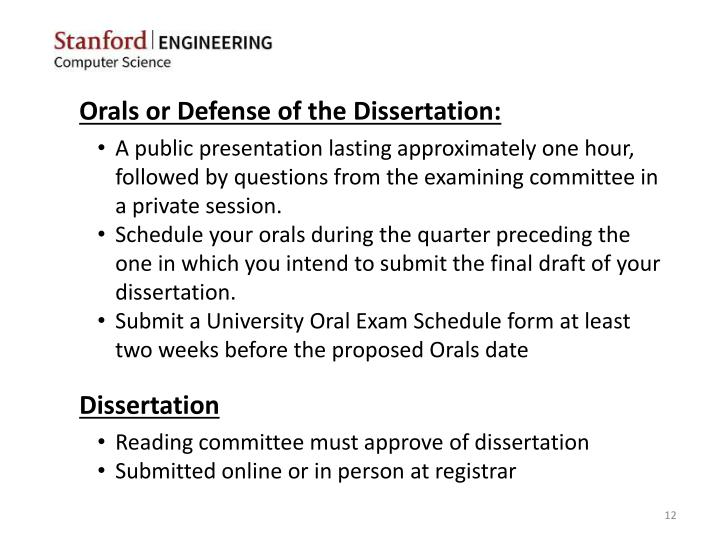 dissertation proposal oral presentation A dissertation defense is an oral presentation and discussion of a dissertation study provides custom dissertation proposal defense presentations dissertation.