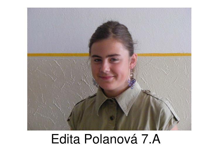 Edita Polanová 7.A