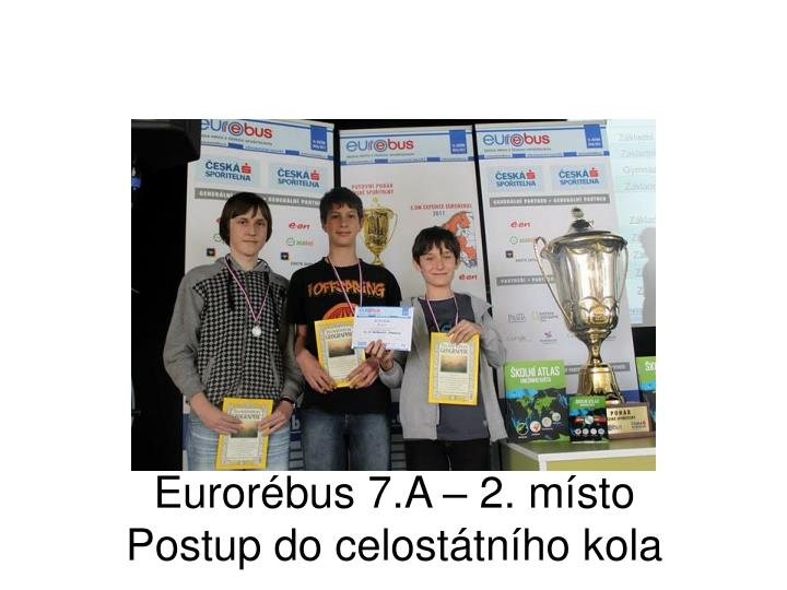 Eurorébus 7.A – 2. místo