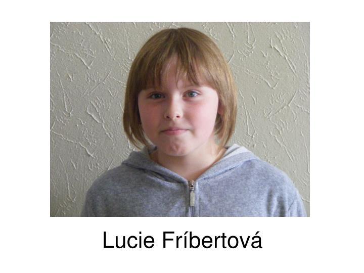 Lucie Fríbertová