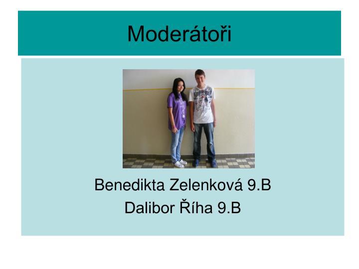 Moderátoři