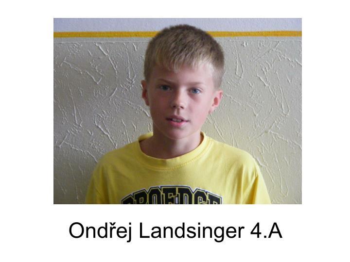 Ondřej Landsinger 4.A