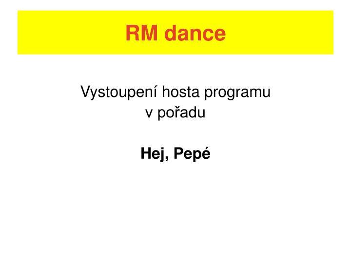 RM dance