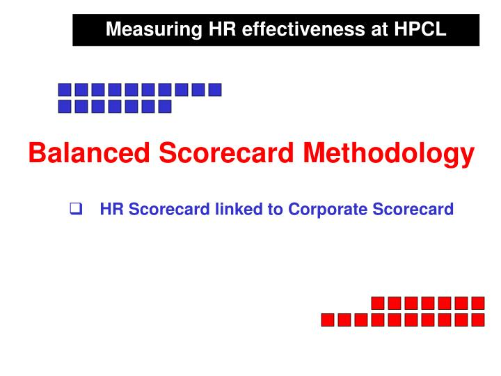 Measuring HR effectiveness at HPCL