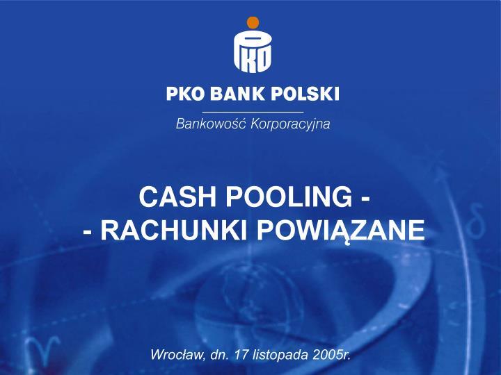 CASH POOLING -