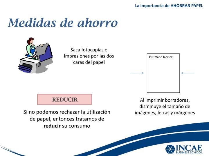 Ppt ahorrar papel powerpoint presentation id 5266671 for Importancia de la oficina wikipedia