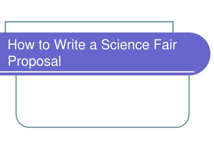 how to write a scientific proposal Writing an effective research proposal marja j verhoef, phd robert j hilsden, md msc frcpc departments of medicine and community health sciences.