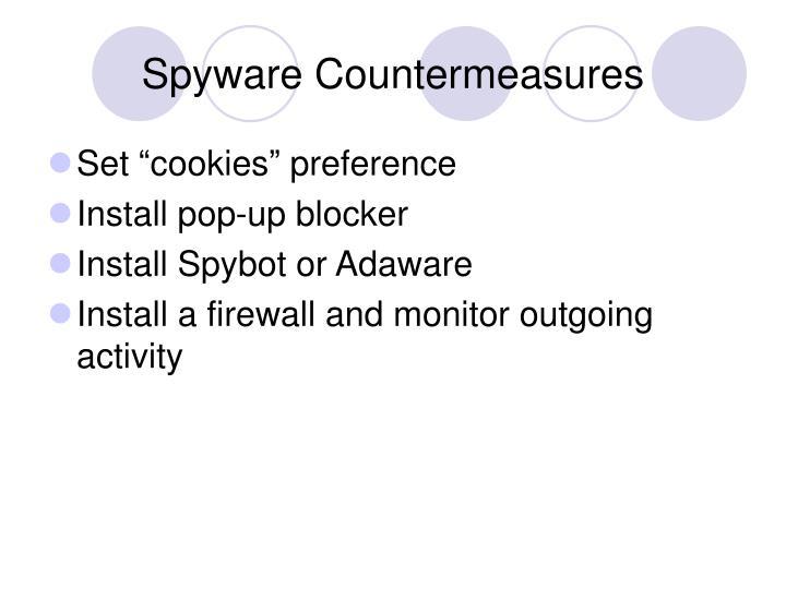Spyware Countermeasures