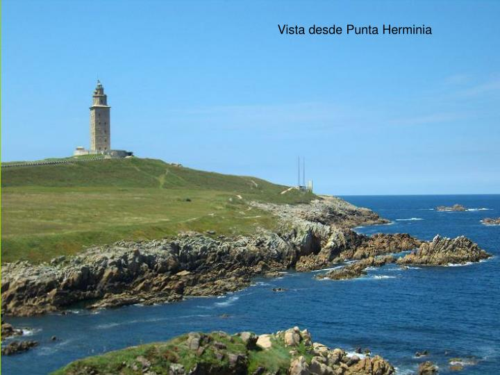 Vista desde Punta Herminia