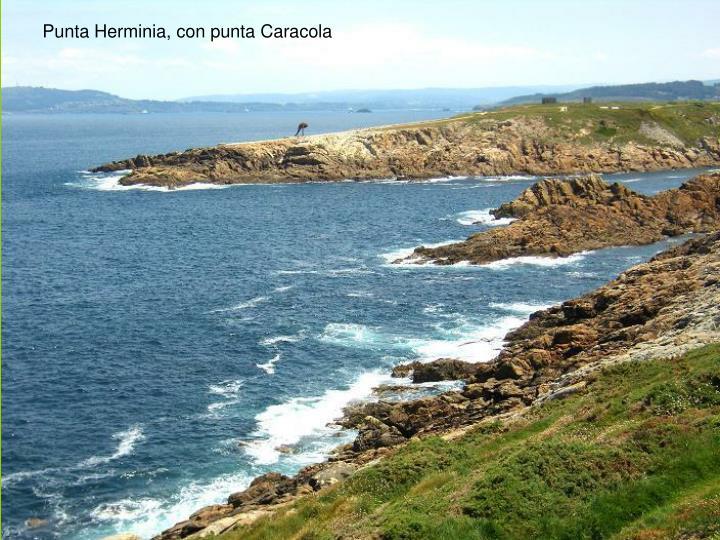 Punta Herminia, con punta Caracola