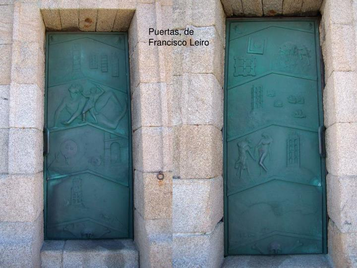 Puertas, de