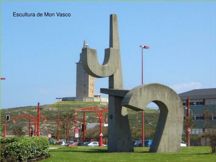 Escultura de Mon Vasco