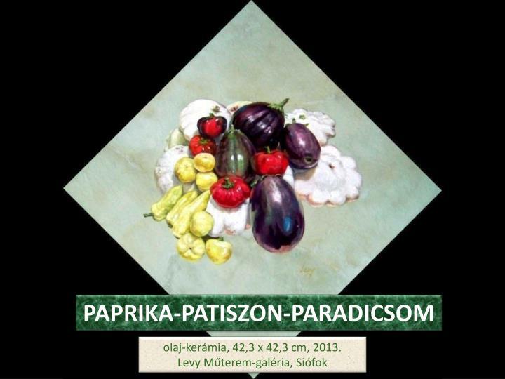 PAPRIKA-PATISZON-PARADICSOM