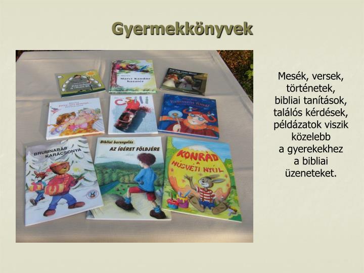 Gyermekkönyvek