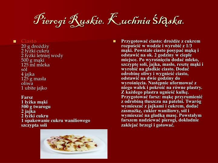 Ppt Kuchnia Warmi I Mazur Powerpoint Presentation Id5268932