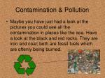 contamination pollution