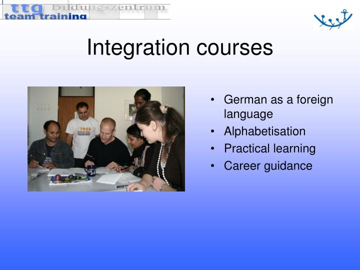 Integration courses