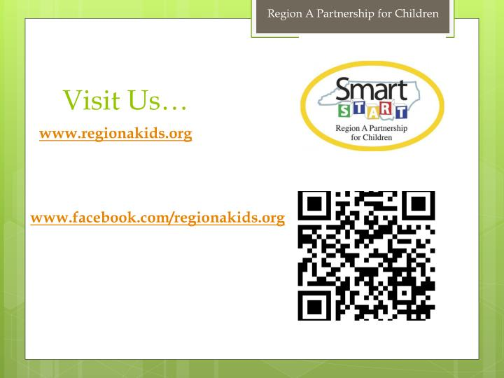 Region A Partnership for Children