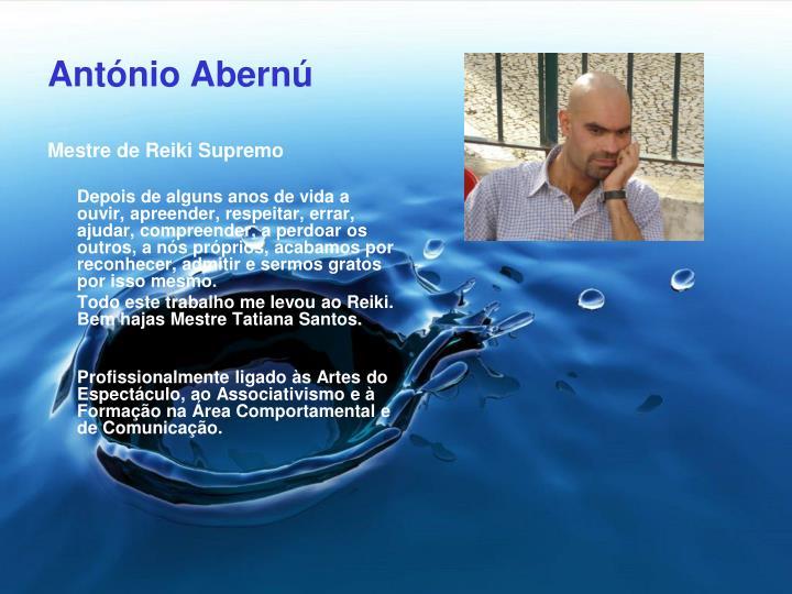 António Abernú