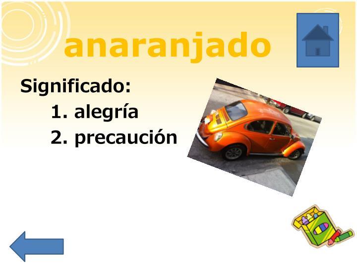 anaranjado