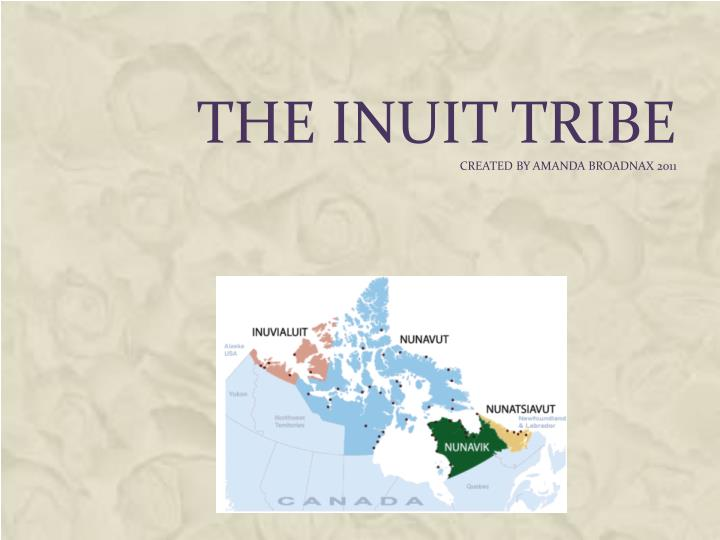 The inuit tribe created by amanda broadnax 2011