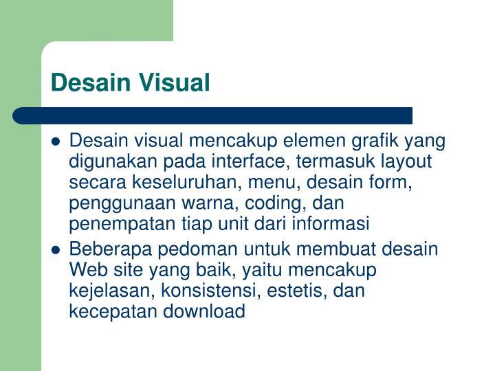 Desain Visual