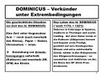 dominicus verk nder unter extrembedingungen