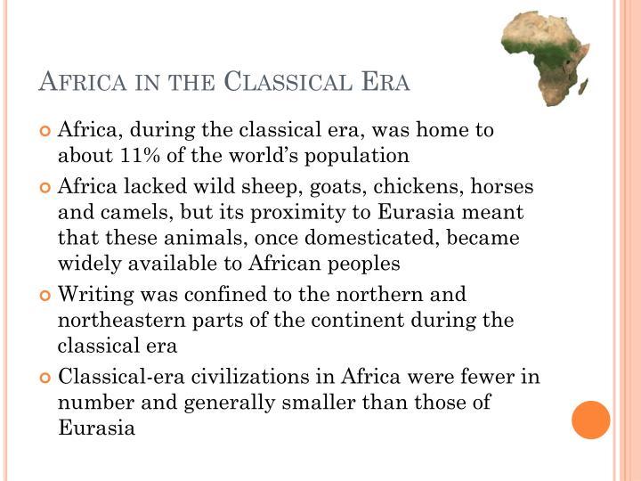 Africa in the classical era