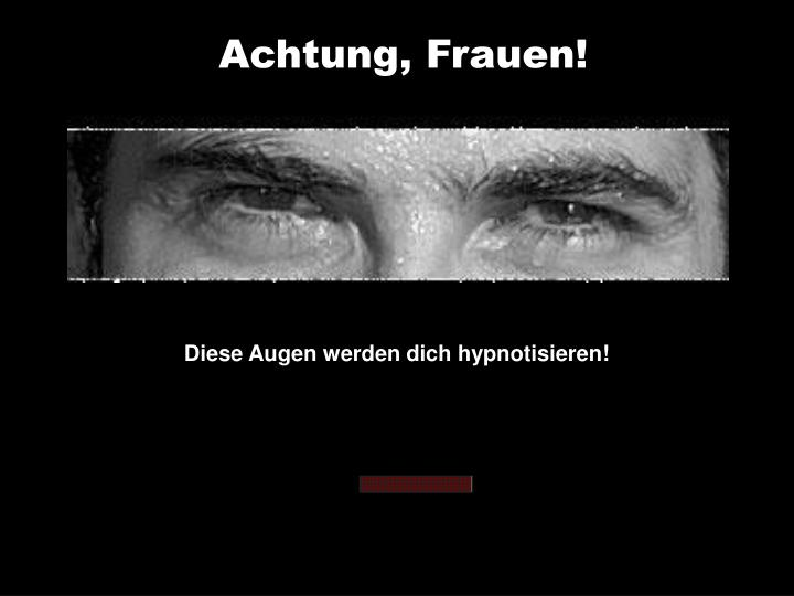 Achtung,