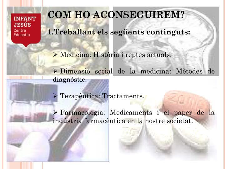 Medicina: Història i reptes actuals.